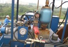 架桥机液压系统维修